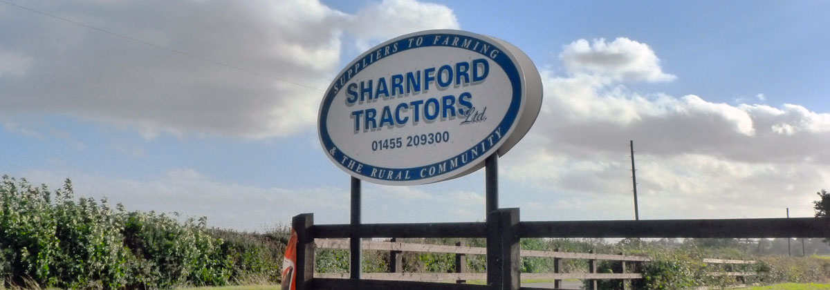 Sharnford Tractors entrance